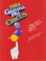 1984 Gamma Phi Circus program (48th annual)