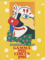 1985 Gamma Phi Circus program (49th annual)