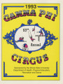1993 Gamma Phi Circus program (57th annual)