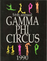 1990 Gamma Phi Circus program (54th annual)