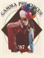 1987 Gamma Phi Circus program (51st annual)
