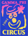 1991 Gamma Phi Circus program (55th annual)