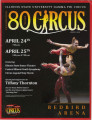 2009 Gamma Phi Circus program (80th anniversary)