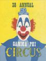 1974 Gamma Phi Circus program (38th annual)