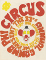 1969 Gamma Phi Circus program (33rd annual)