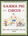 2003 Gamma Phi Circus program (67th annual)