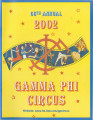 2002 Gamma Phi Circus program (66th annual)