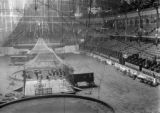 Circus Setup in Madison Square Garden